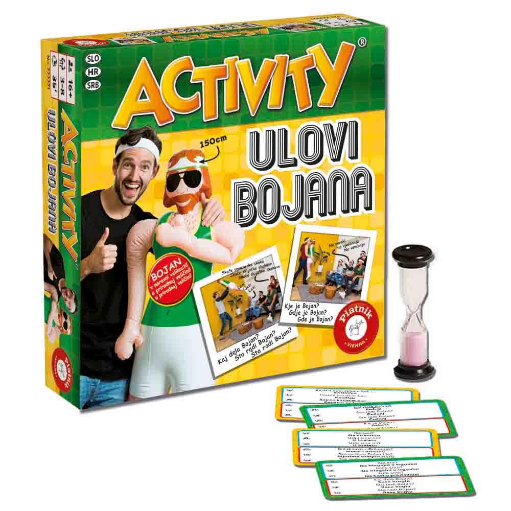 Piatnik Activity Ulovi Bojana igra