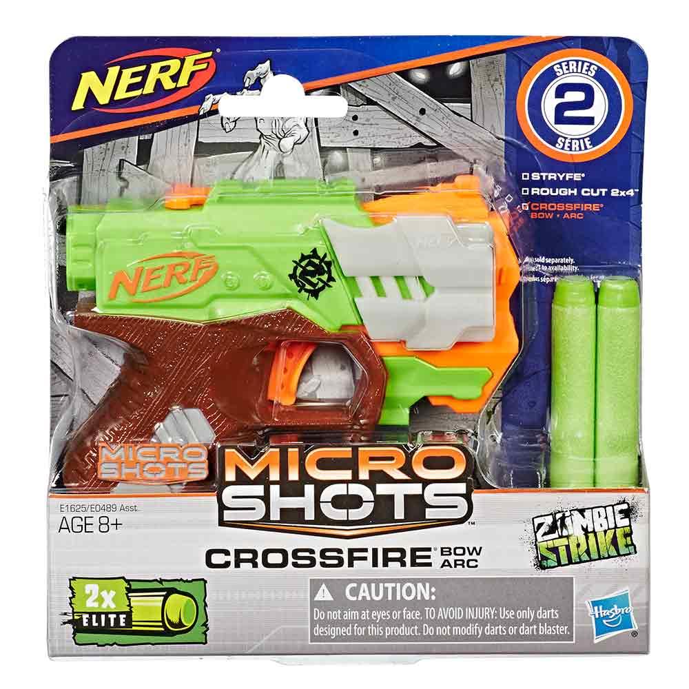 Nerf Micro Shots Crossfire ročni metalec