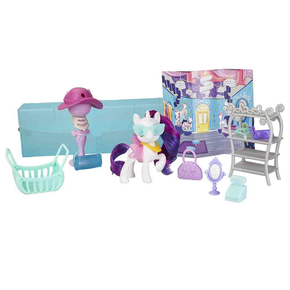 My Little Ponny potovalna Rarity