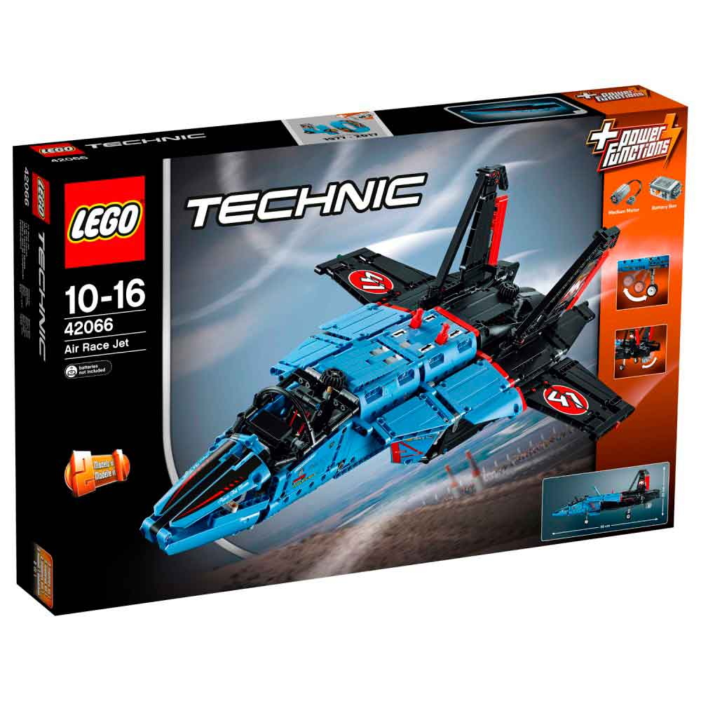 LEGO Tehnic Tekmovalni reaktivec