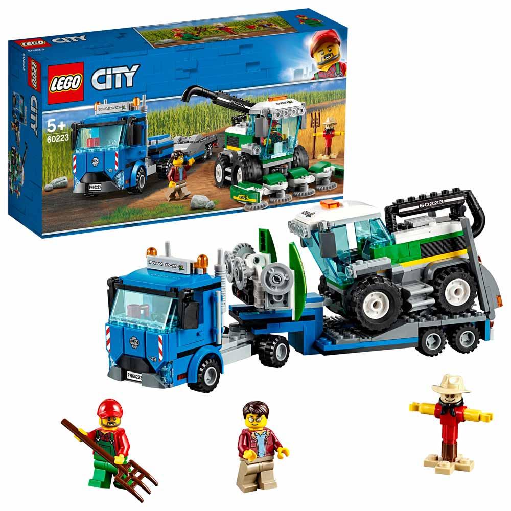 LEGO Transportni tovornjak in kombajn