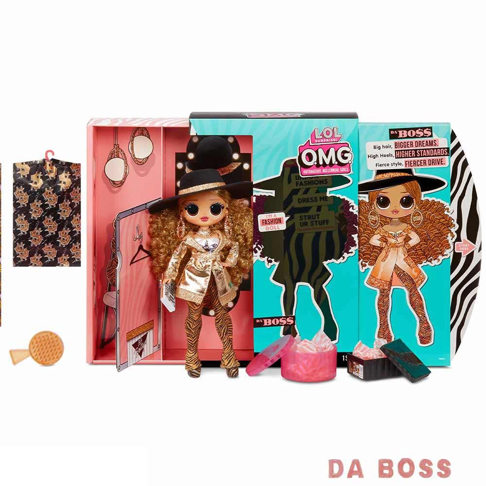 LOL modna punčka Surprise OMG