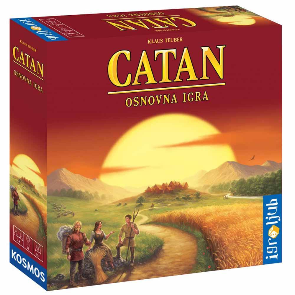 Naseljenci otoka Catan osnovna igra