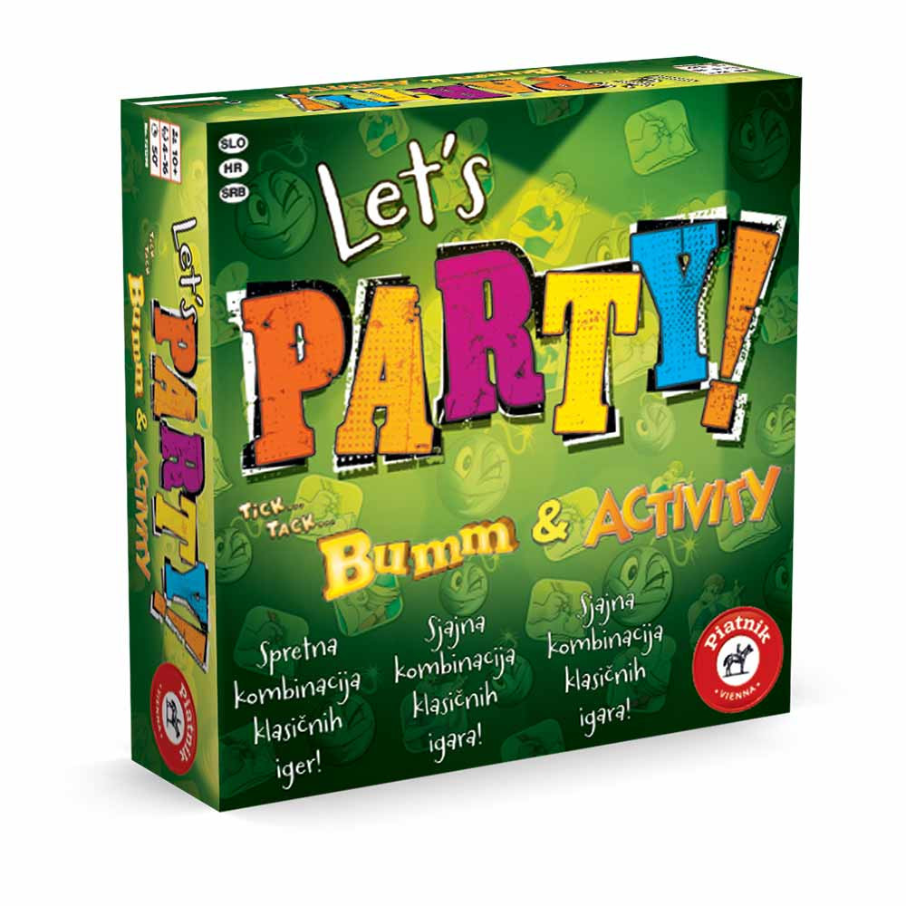 Piatnik Lets Party družabna igra