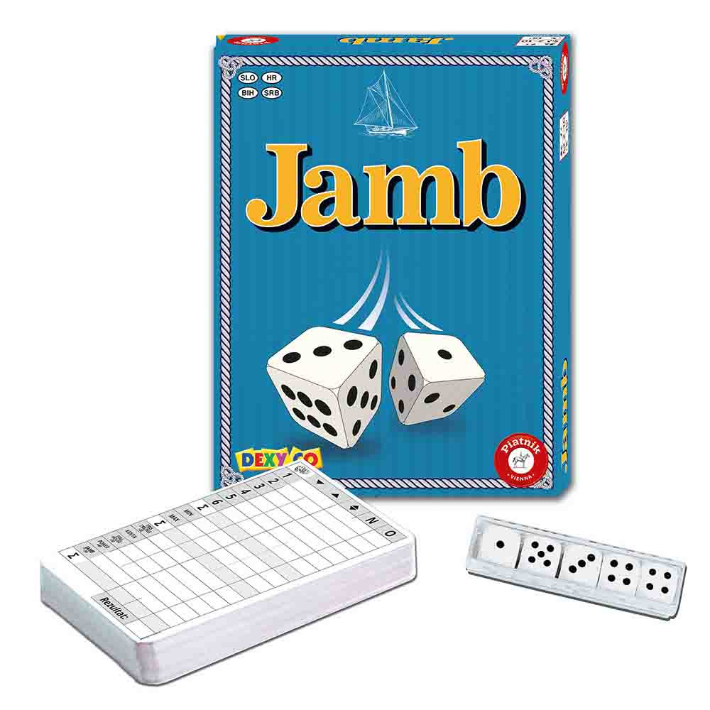 Piatnik družabna igra Jamb