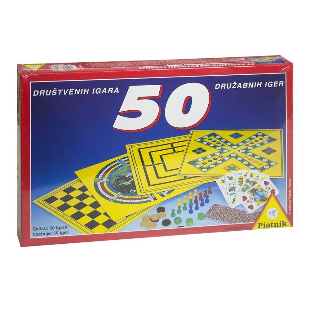 Piatnik družabna igra 50 Iger