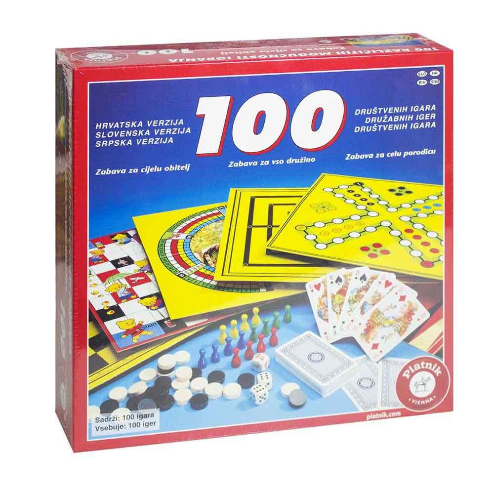 Piatnik družabna igra 100 Iger