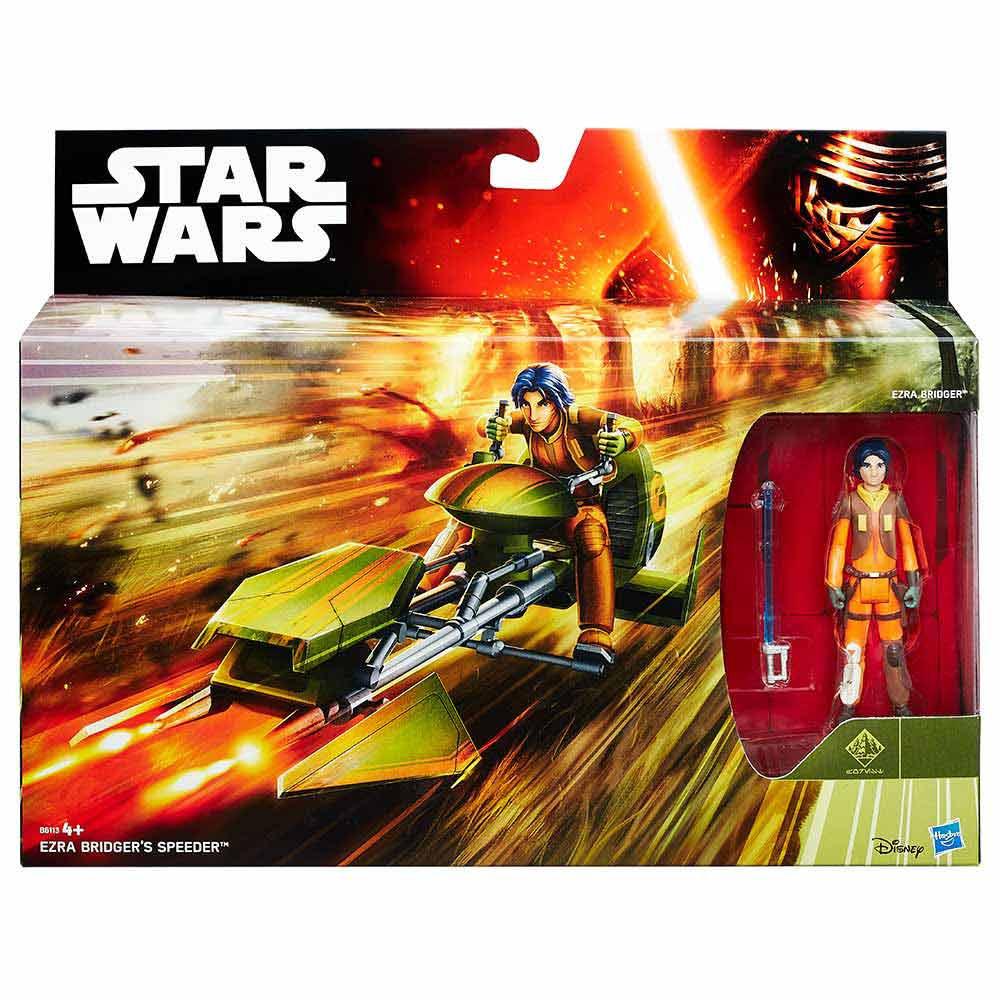 Star Wars figura&vozilo Ezra Bridger