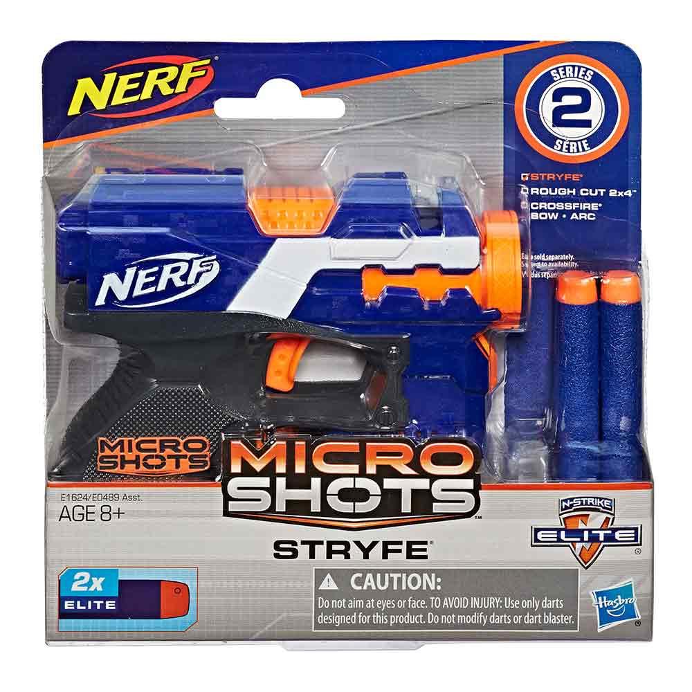 Nerf Micro Shots Stryfe ročni metalec
