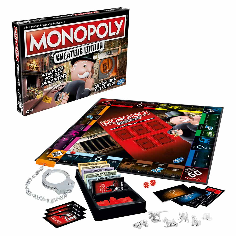 Monopoly izdaja za prebrisane igra