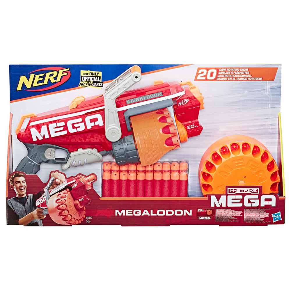Nerf Mega Megalodon ročni metalec