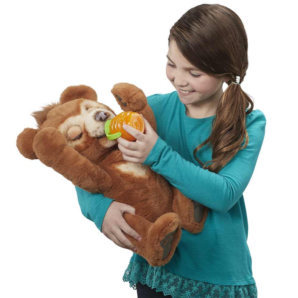 Furreal radovedni medvedek Cubby