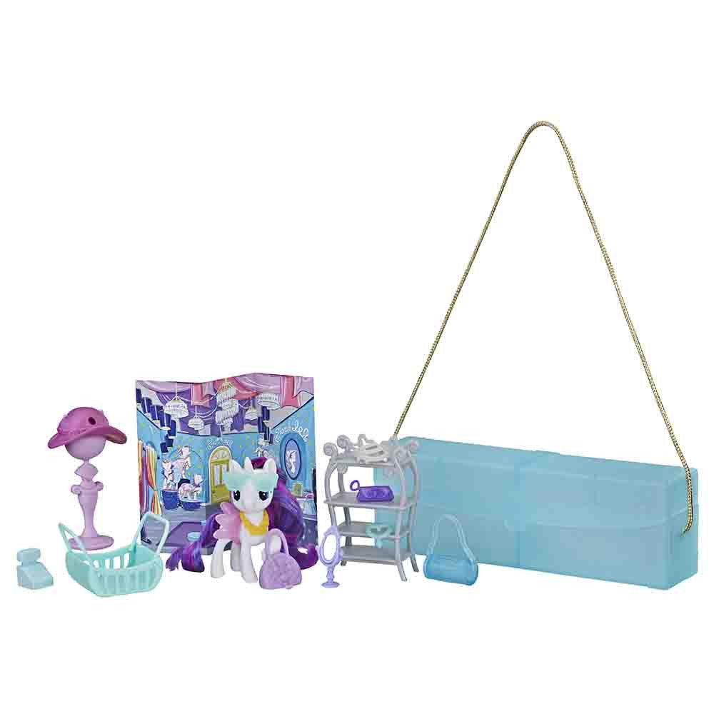 My Little Pony potovalna Rarity