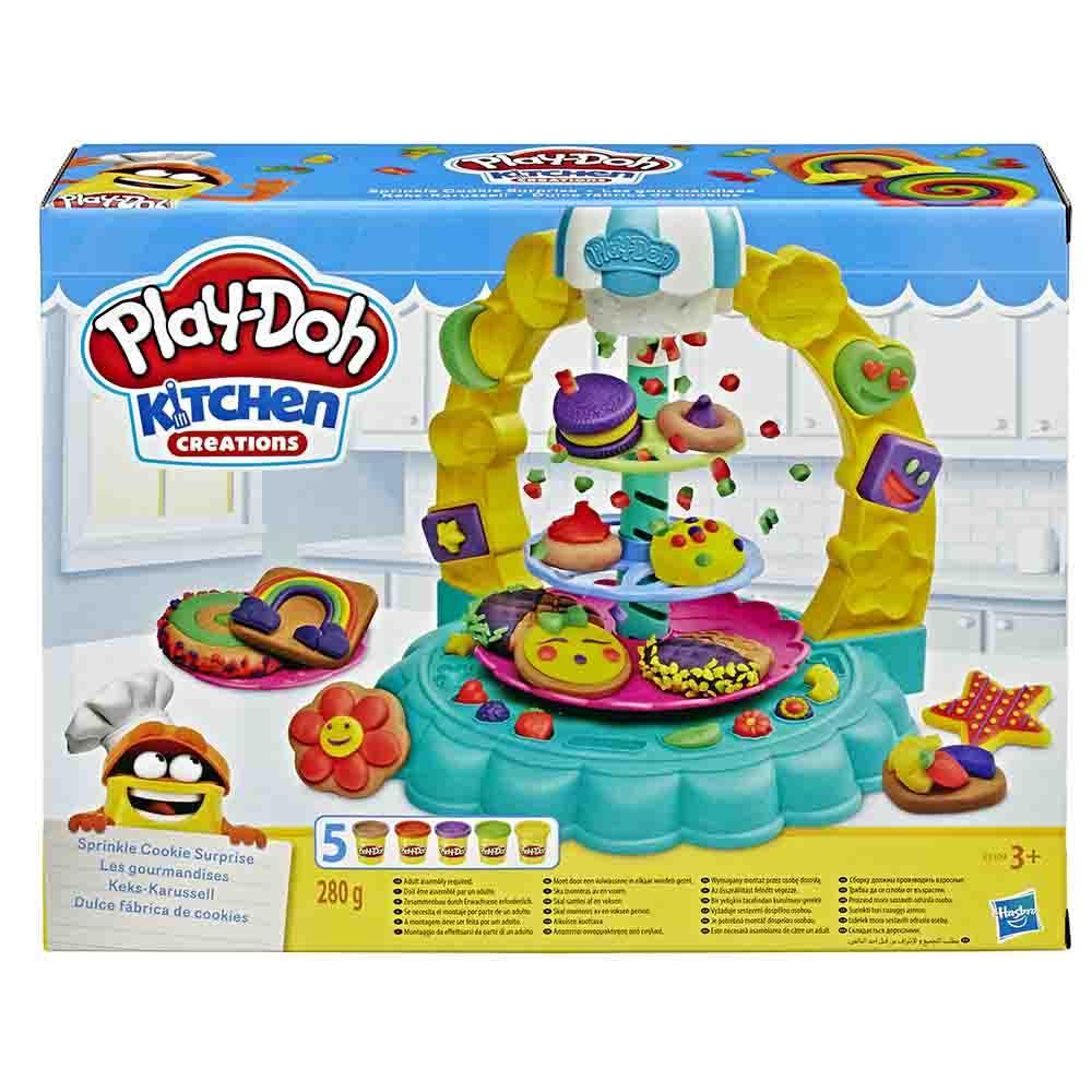 Play-Doh kuhinja piškotno presenečenje