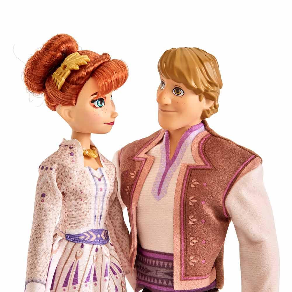 Frozen 2 klasični lutki Ana in Krištof