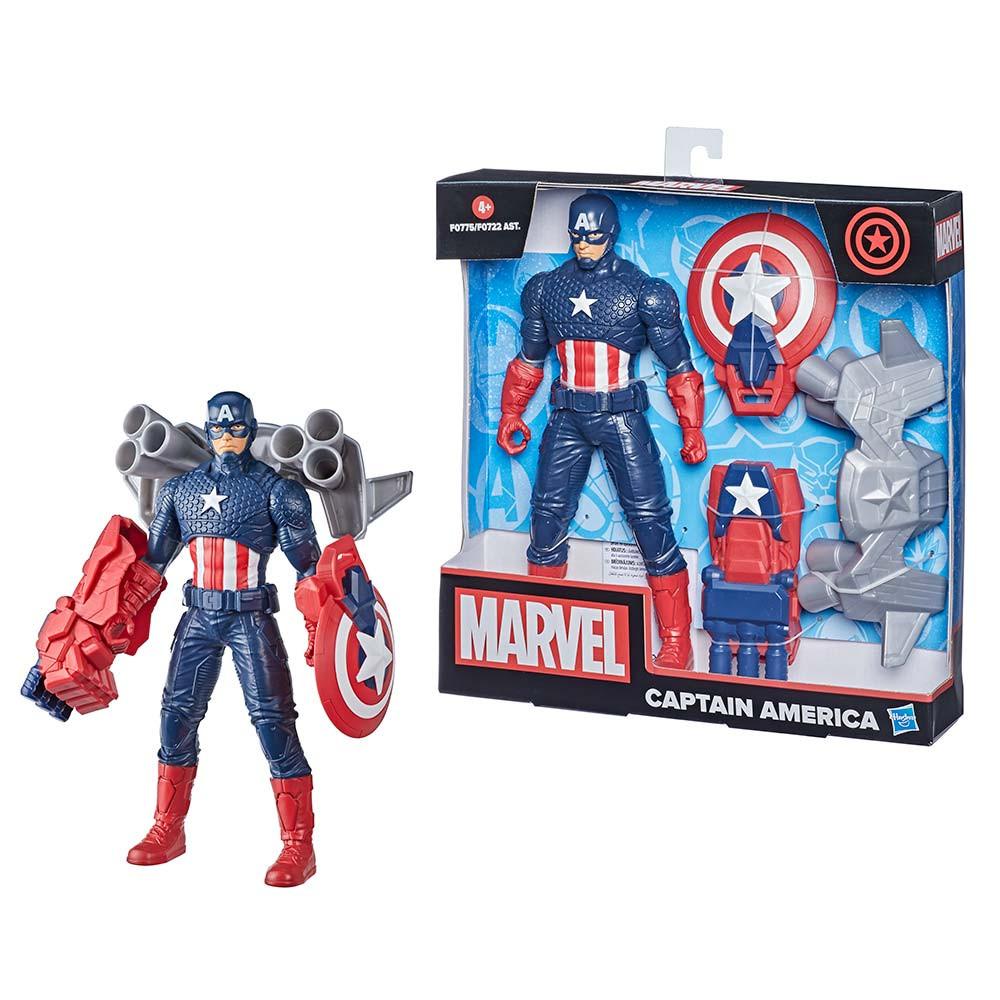 Marvel 24 cm Stotnik Amerika z opremo