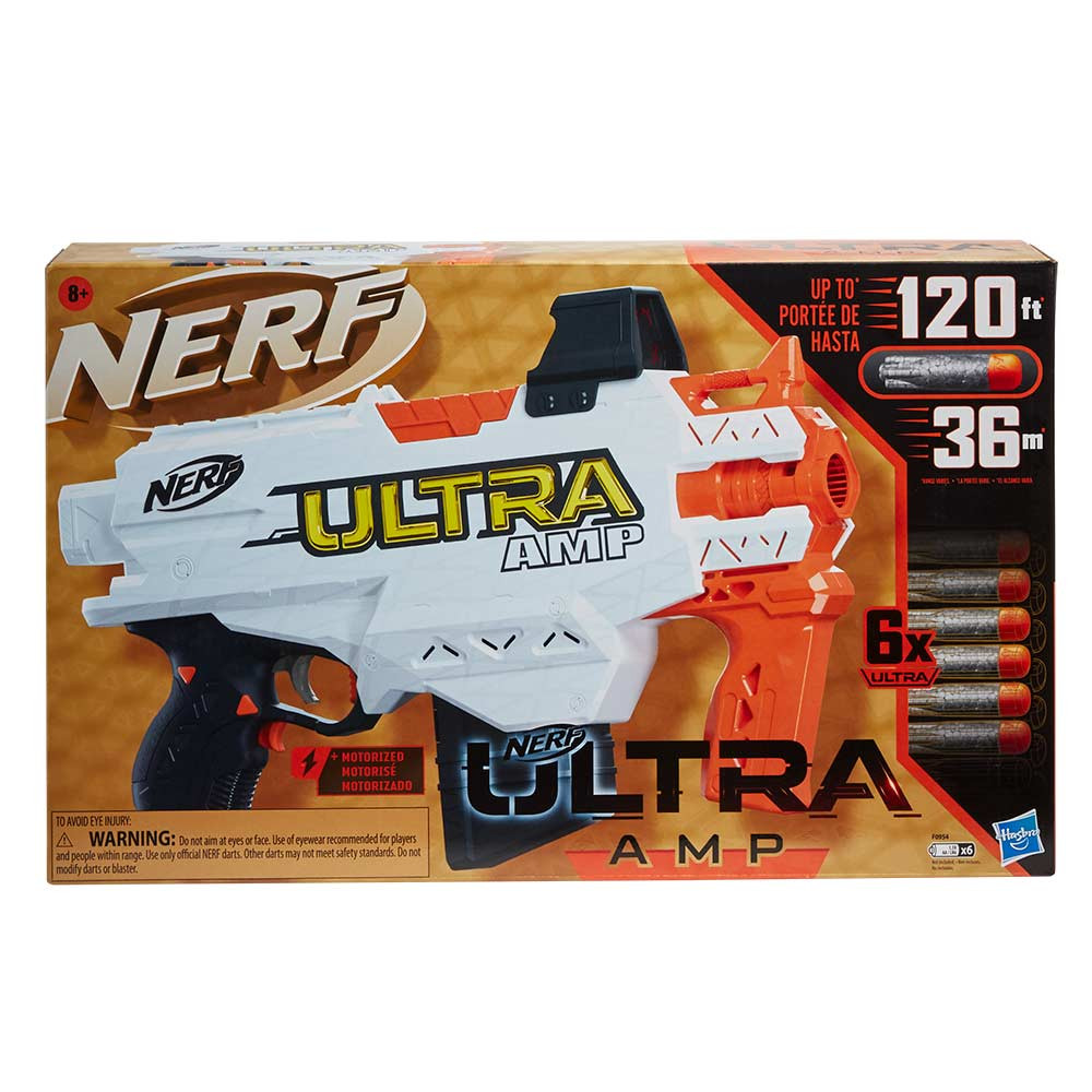 Nerf Ultra Platinum AMP ročni metalec