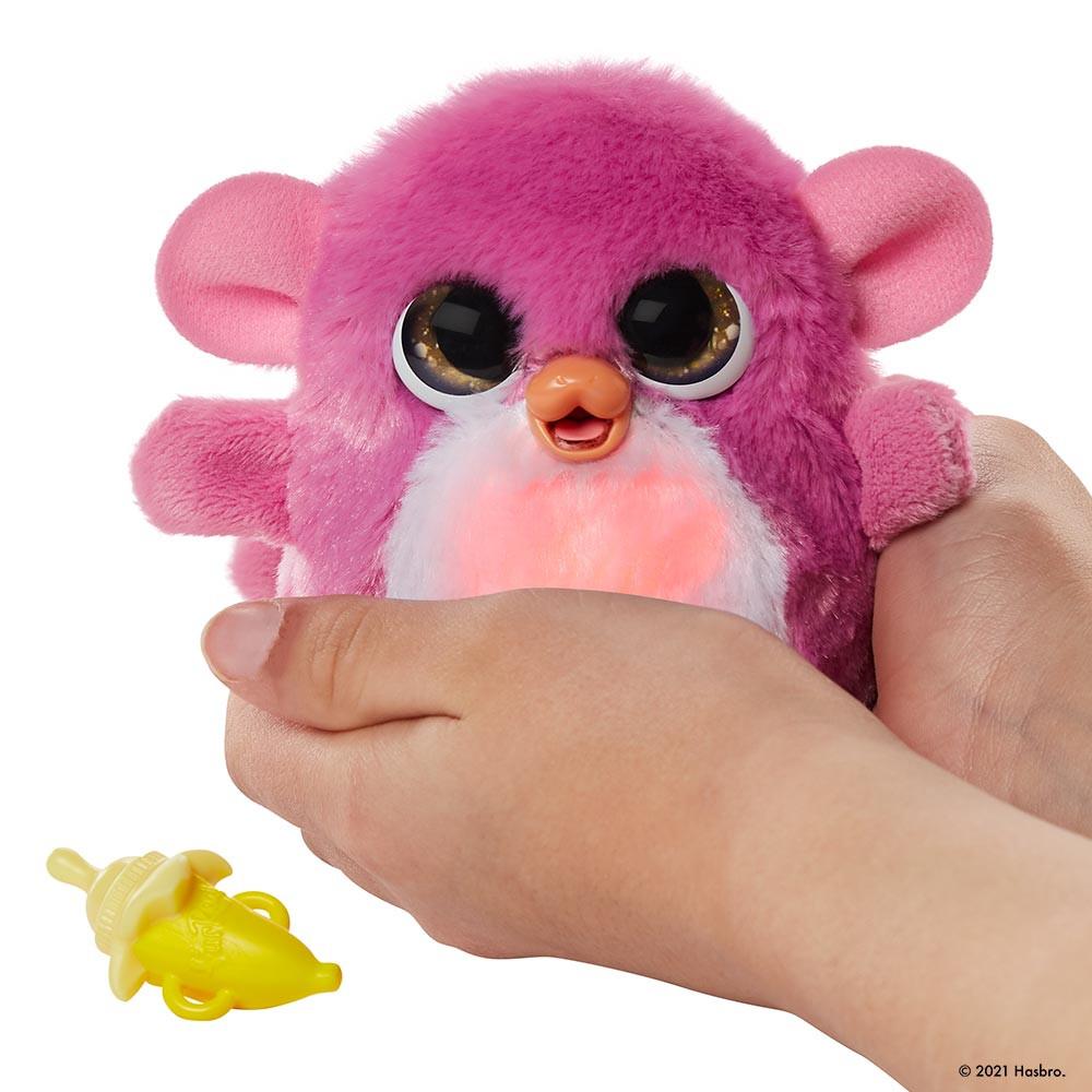 FurReal Fuzzalots ljubljenček opica
