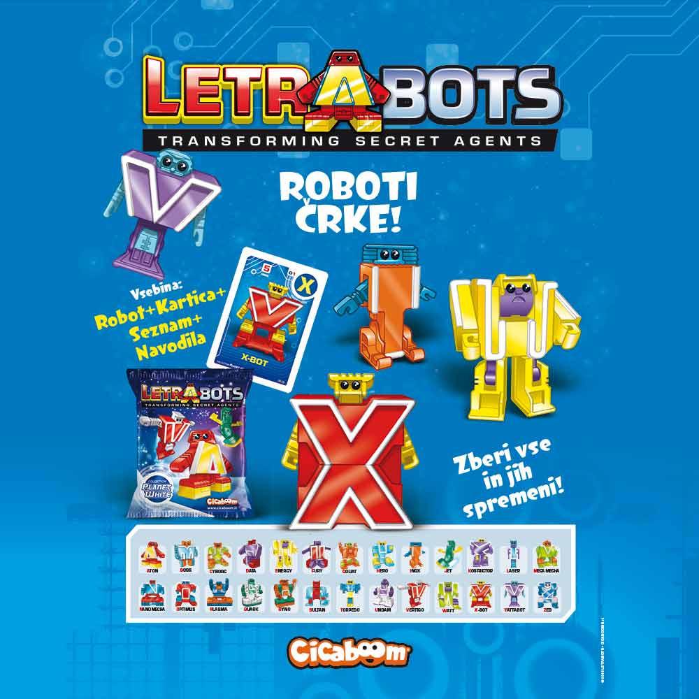 Letrabots roboti-črke