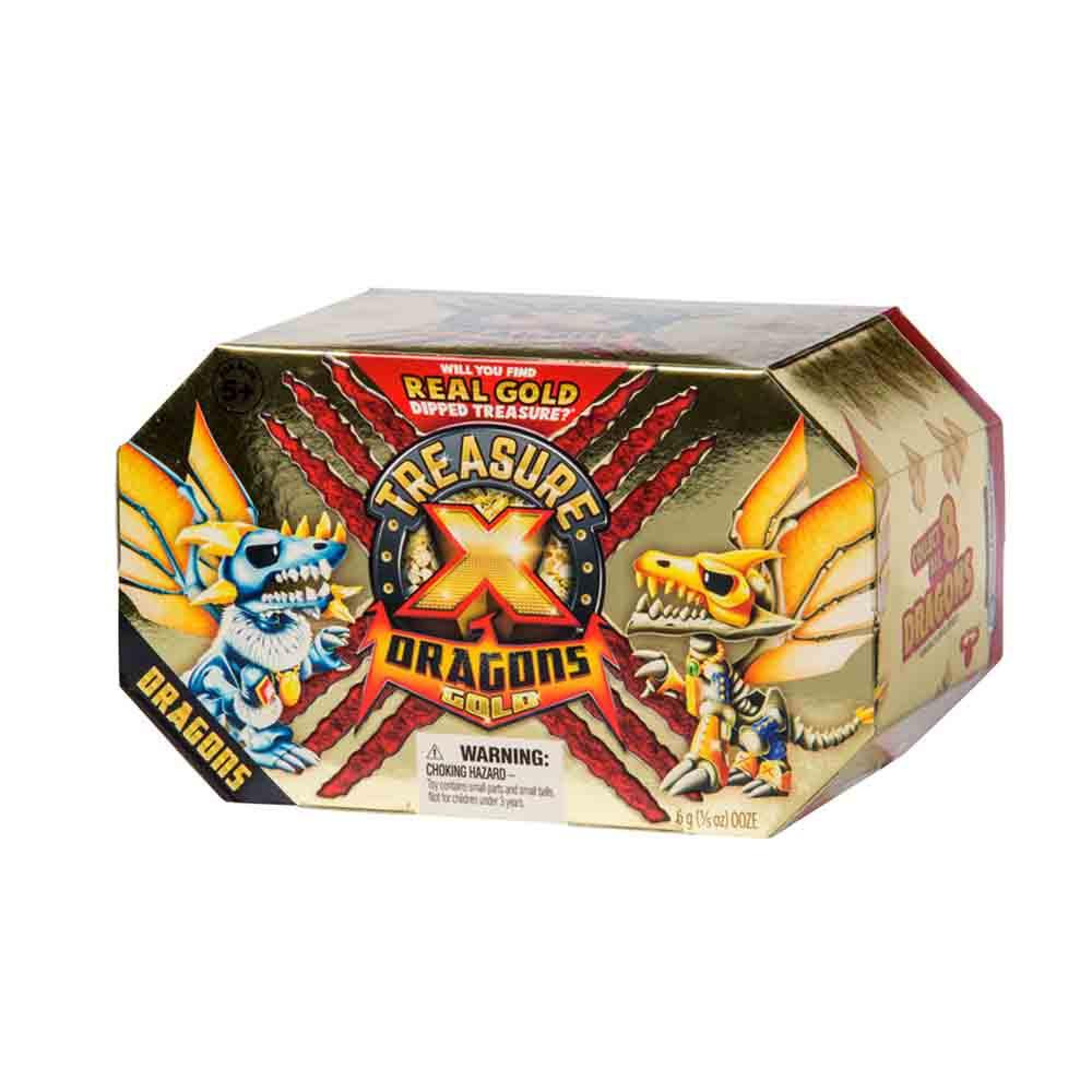 Zaklad X zmajevo zlato - zmaji
