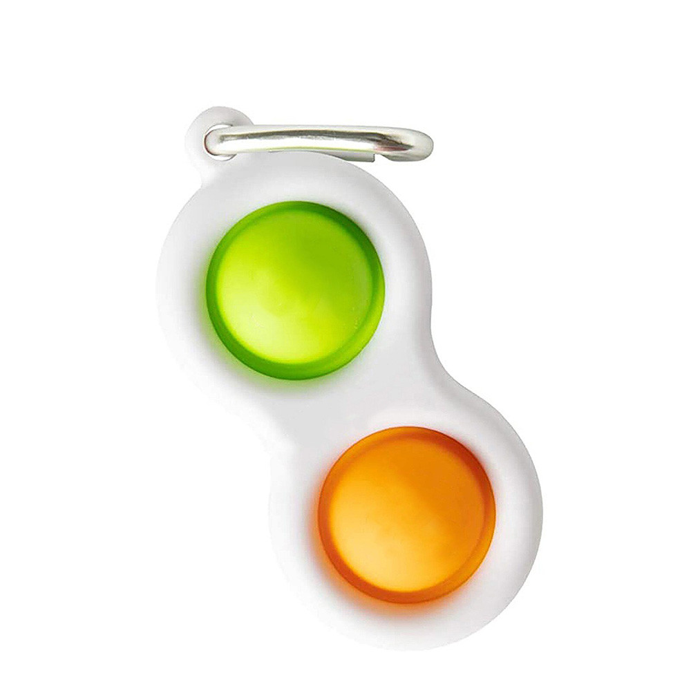 Fidget pop sort duo obesek za ključe