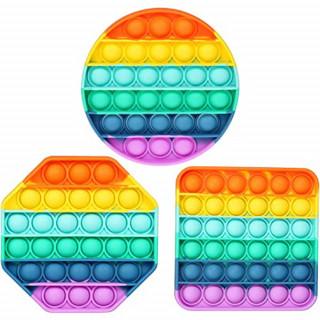 Pop it Rainbow senzorična igrača