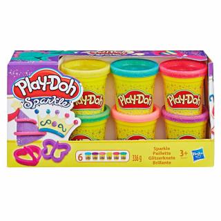 Play-Doh kolekcija svetleče mase