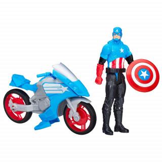Avengers heroj in vozilo Stotnik Amerika