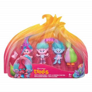 Trolls Mesto trolov set 4 figur