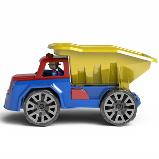 Tovornjak kiper s figuro