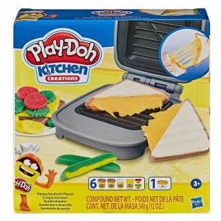 Play-Doh kuhinja ustvarjalni sendviči