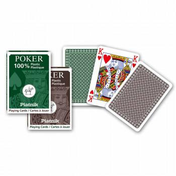 Piatnik karte poker plastične