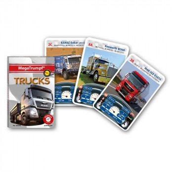 Piatnik karte avtomobili Tovornjaki
