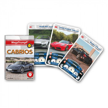 Piatnik karte avtomobili Cabrios