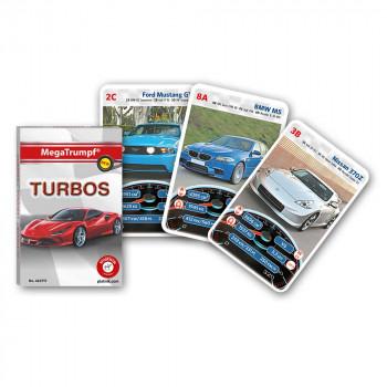Piatnik karte avtomobili Turbos