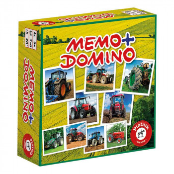 Piatnik Memo domine Traktorji