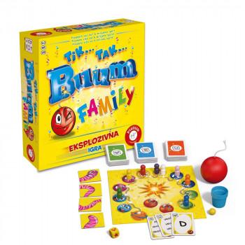 Piatnik družabna igra Tik Tak Bum Family