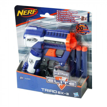 Nerf Elite Triad EX3 metalec