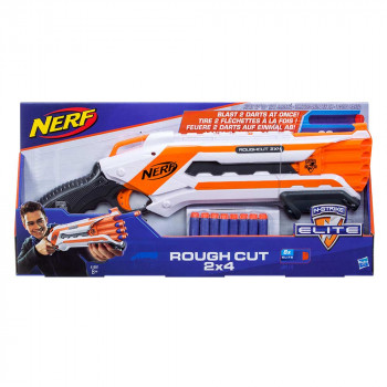 Nerf Elite Rough Cut 2x4 ročni metalec