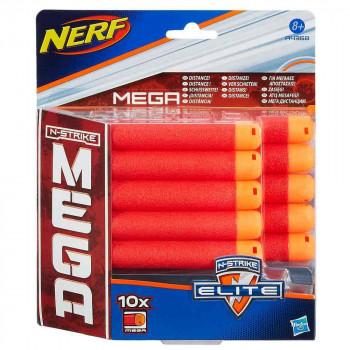 Nerf Mega komplet 10 nadomestnih pušcic