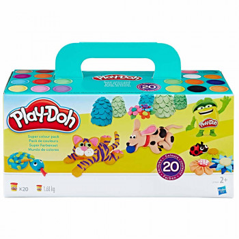 Play-Doh super barvni set 1,68 kg