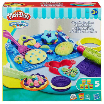 Play-Doh kuhinja piškotne stvaritve