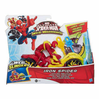 Spider-Man dirkalnik Iron Spider