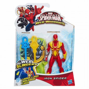 Spider-Man figura v pajčevini