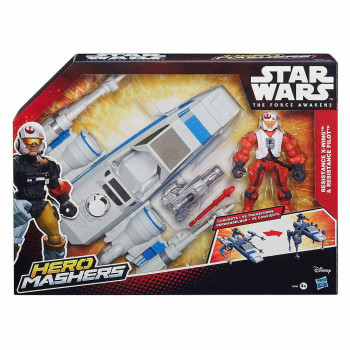 Star Wars figura in vozilo Resistance