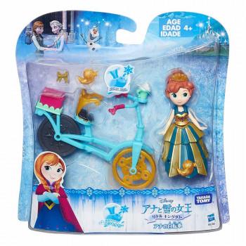 Frozen figura Anna s kolesom in dodatki