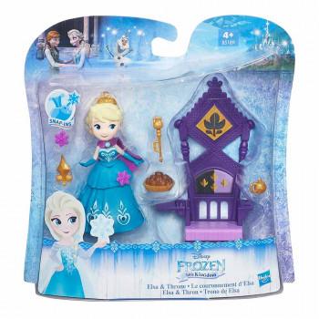 Frozen figura Elza, prestol in dodatki