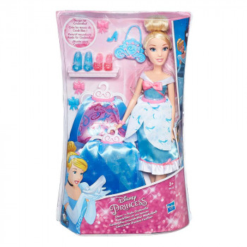 Disney Princess Pepelka z oblekicami