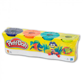 Play-Doh 4 lončki klasične barve
