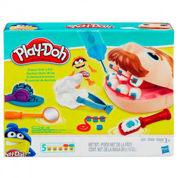 Play Doh plastelin set Zobozdravnik
